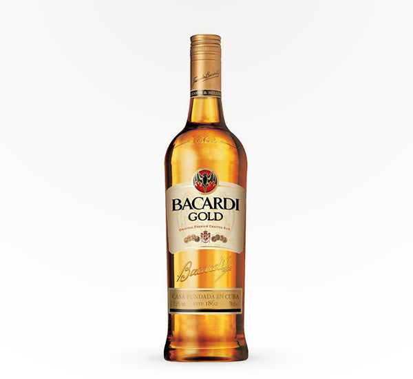 Bacardi Gold Rum - 750 ml - SipsyLA