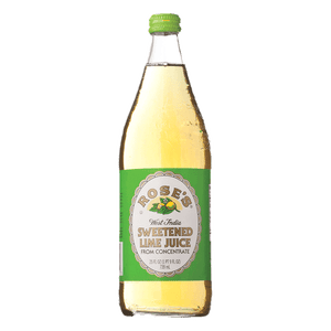 Rose's Sweetened Lime Juice - 25oz - SipsyLA