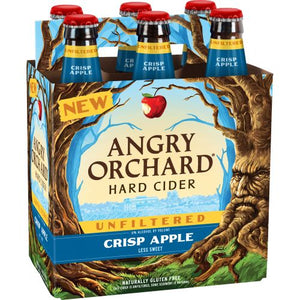 Angry Orchard Crisp Apple Unfiltered - 6 Bottles - SipsyLA