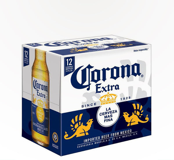 Corona Extra Mexican Pale Lager  - 12 bottles - SipsyLA