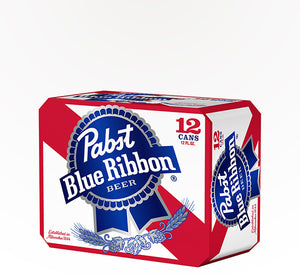 Pabst Blue Ribbon American Lager  - 12 cans - SipsyLA