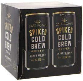 Cafe Agave Spiked Coldbrew Caffe Mocha 4 pack