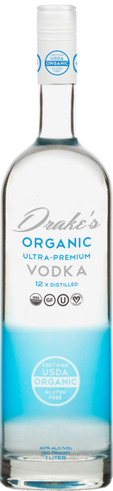 Drake's Organic Ultra-Premium Vodka 750ml