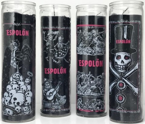Free Espolon Prayer Candles - Set of 4