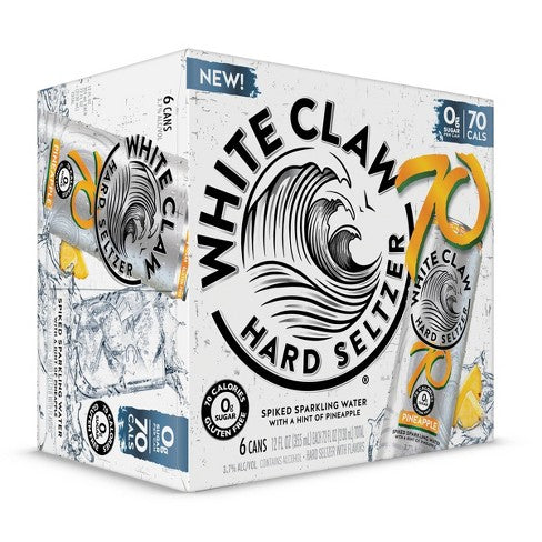 White Claw 70 Pineapple 6pk - SipsyLA