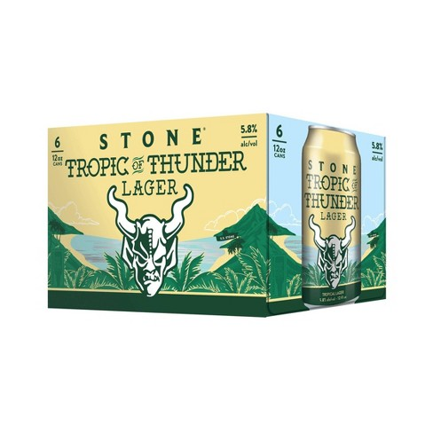Stone Tropic of Thunder Lager - 6 cans - SipsyLA