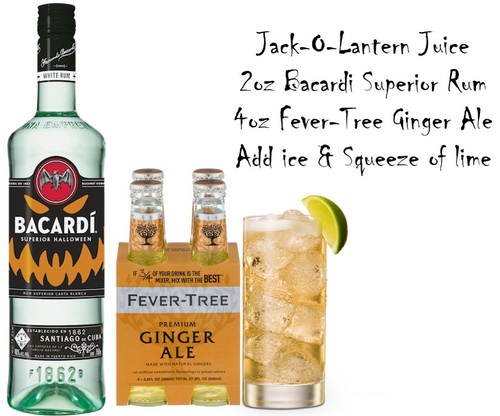 Bacardi's Jack-O-Lantern Juice Cocktail Pack