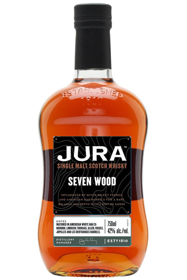 Jura Seven Wood Single Malt 750ml - SipsyLA