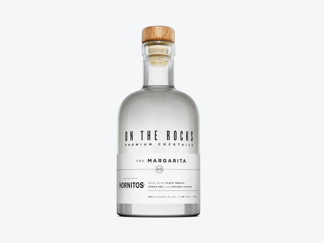 On the Rocks Margarita 375ml - SipsyLA