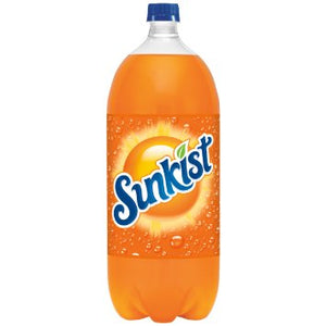 Sunkist Orange Carbonated Drink - 2 L - SipsyLA