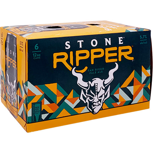 Stone Ripper American Pale Ale - 6 Cans - SipsyLA