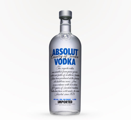 Absolut Vodka - 750 ml - SipsyLA