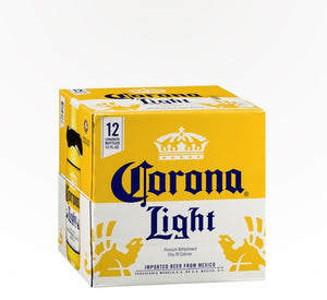 Corona Light Mexican Light Lager  - 12 bottles - SipsyLA