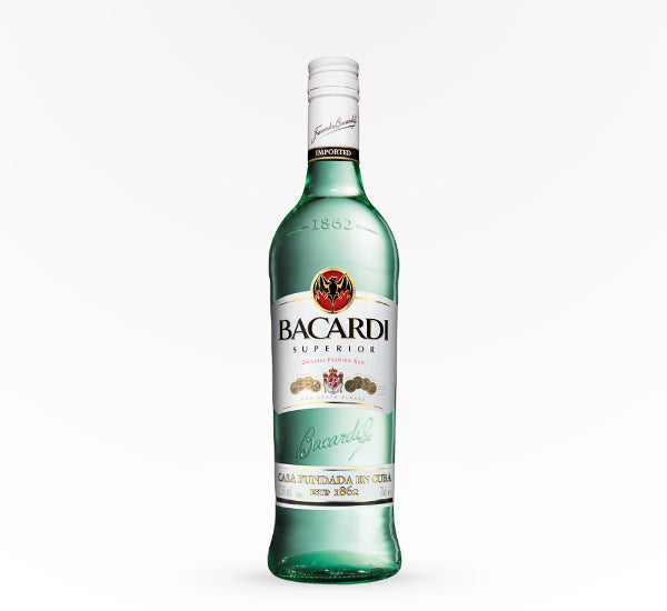 Bacardi Superior White Rum - 750ml - SipsyLA