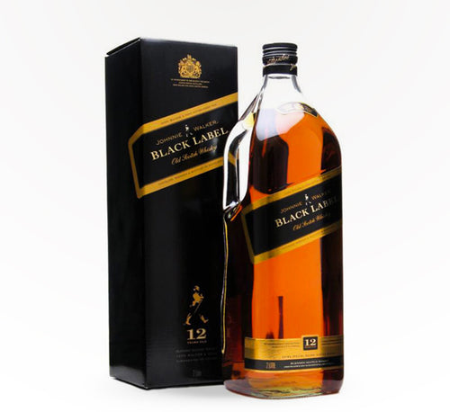 Johnnie Walker Black Blended Scotch Whiskey -1.75L - SipsyLA