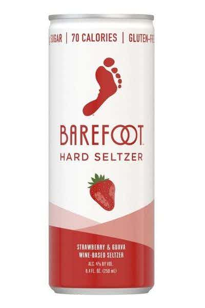 Barefoot Hard Seltzer Strawberry - 4pk - SipsyLA