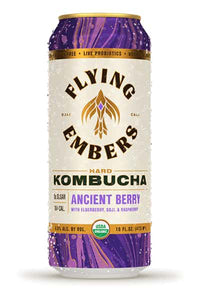 Flying Embers Hard Kombucha - Ancient Berry 16oz - SipsyLA