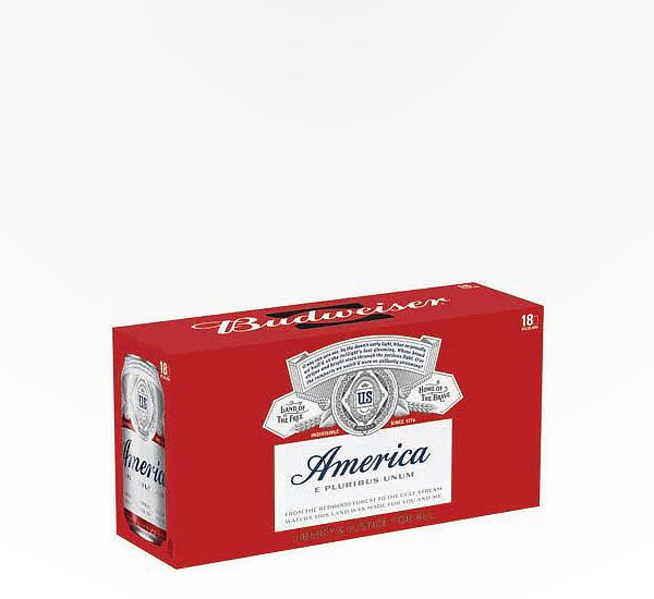 Budweiser American Lager  - 18 cans - SipsyLA