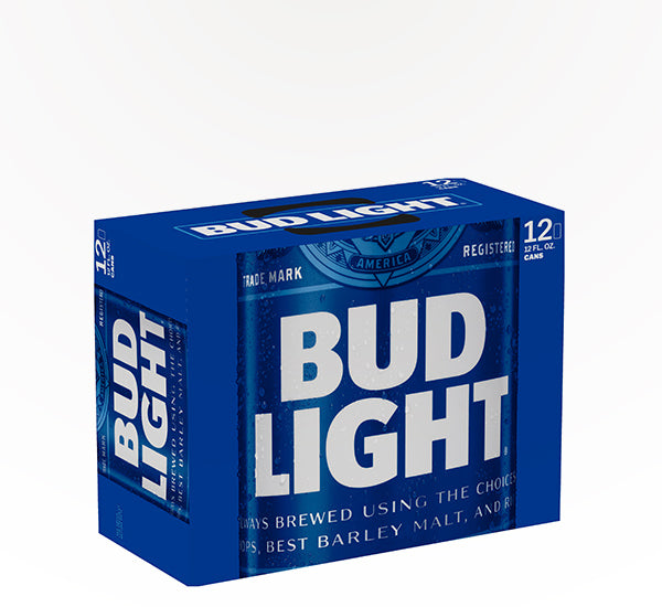 Bud Light  American Lager  - 12 cans - SipsyLA