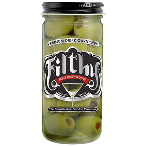 Filthy Pimiento Olives - Stuffed Olives 8oz - SipsyLA