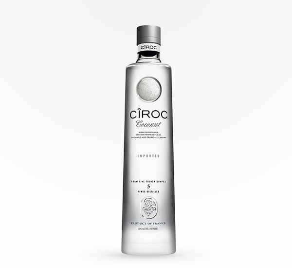 Ciroc Coconut Vodka - 750 ml - SipsyLA