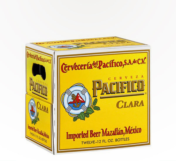 Pacifico Pilsner-Style Lager  - 12 bottles - SipsyLA