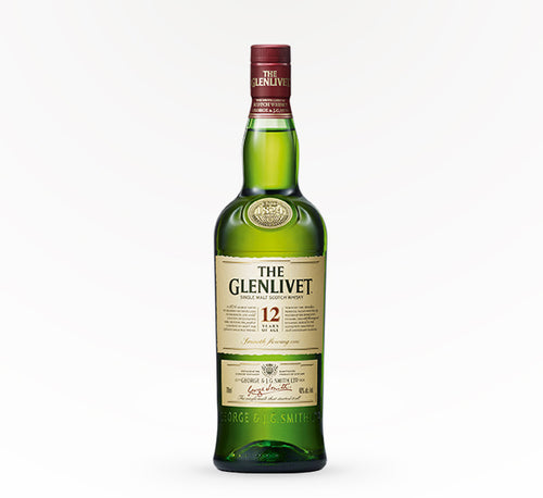 Glenlivet - Single Malt, 12 year - 750 ml - SipsyLA