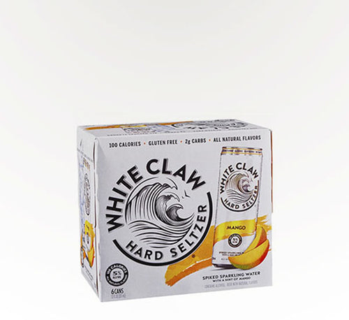 White Claw Mango  - 6 cans - SipsyLA