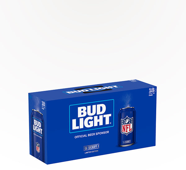 Bud Light  American Lager  - 18 cans - SipsyLA