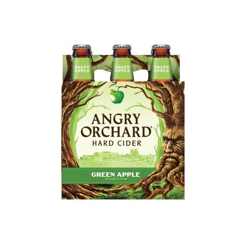Angry Orchard Green Apple Hard Cider 6 Pack - SipsyLA