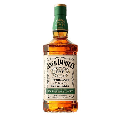 Jack Daniel's Tennessee Straight Rye Whiskey - 750ml - SipsyLA