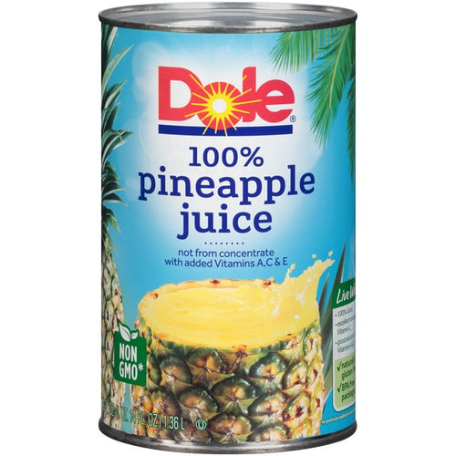 Dole Pineapple Juice - 46 oz - SipsyLA