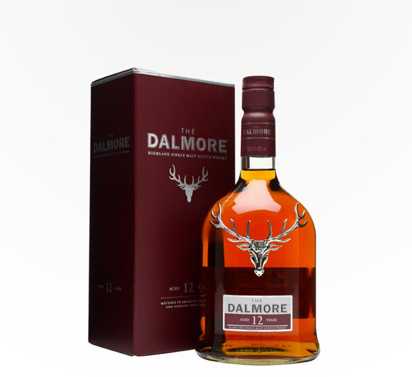 Dalmore 12 Year Single Malt Scotch - 750 ml - SipsyLA
