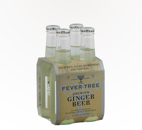 Fever Tree Premium Ginger Beer - 4 bottles - SipsyLA