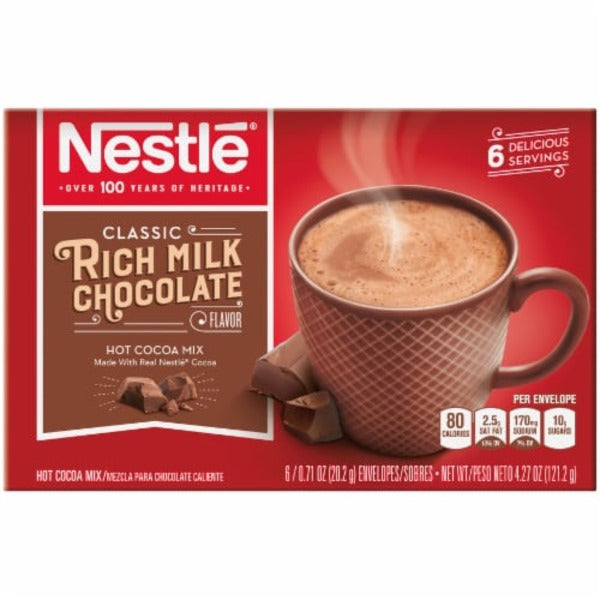 Nestle Rich Milk Chocolate Hot Cocoa Mix - SipsyLA