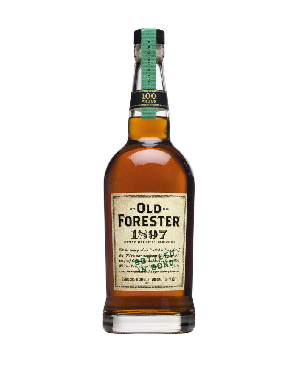 Old Forester 1897 Bottle In Bond - 750 ml - SipsyLA