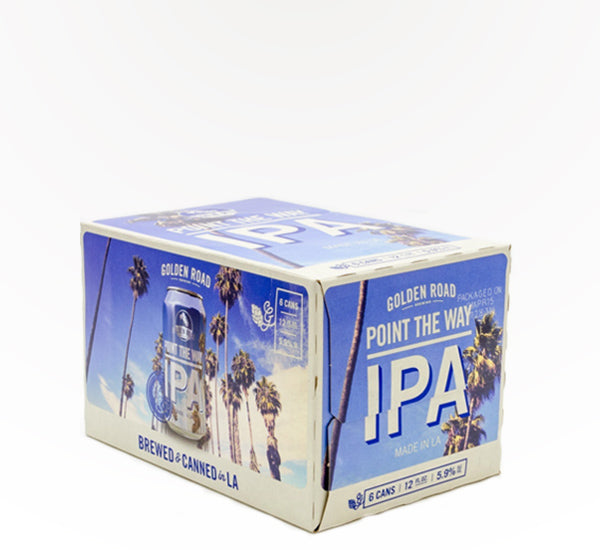 Golden Road Point The Way IPA  - 6 cans - SipsyLA