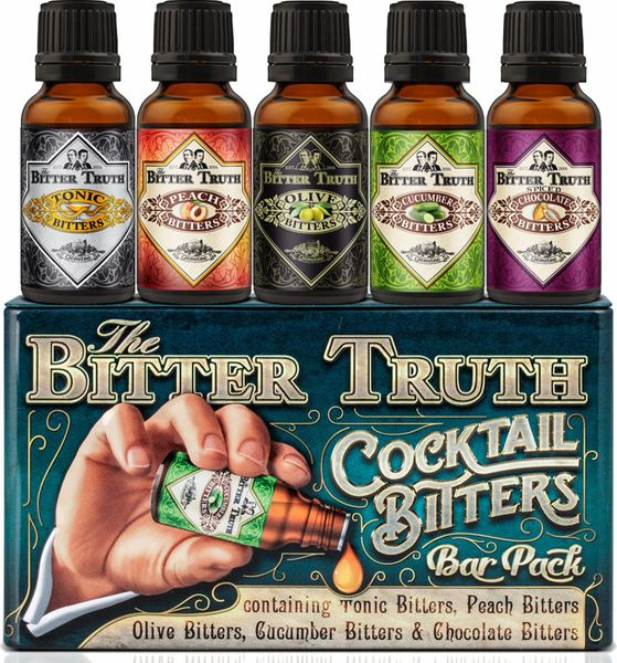 The Bitter Truth Cocktail Bitters Bar Pack - 5pk