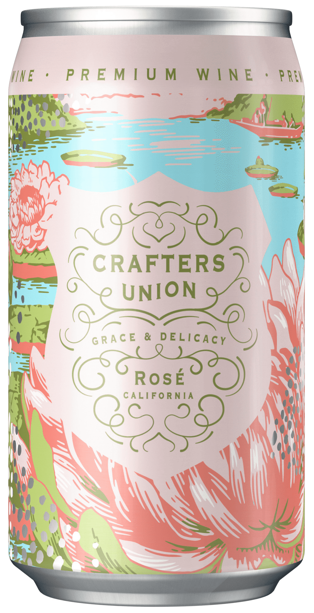 Crafters Union Rose - 375mL - SipsyLA