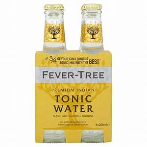 Fever Tree Premium Indian Tonic Water - 4 bottles - SipsyLA
