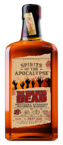 The Walking Dead Kentucky Straight Bourbon 750ml - SipsyLA