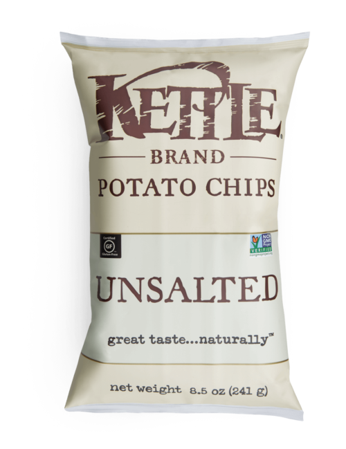 Kettle Brand Unsalted 8.5oz - SipsyLA