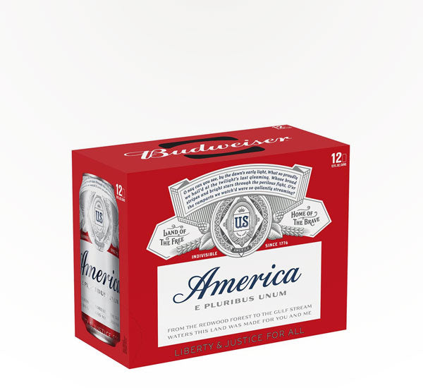 Budweiser American Lager  - 12 cans - SipsyLA