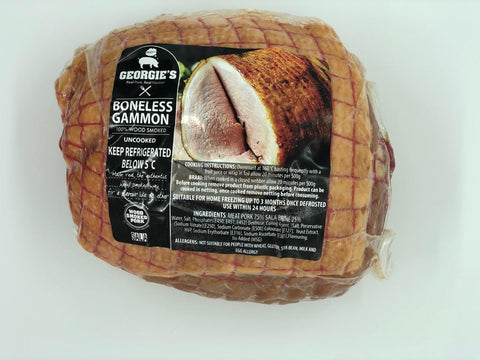 Georgie's Boneless Gammon R69.90 p/kg