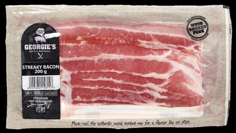 Georgie's Streaky Bacon 200g