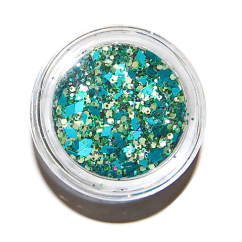 Teal Sparkle Mix