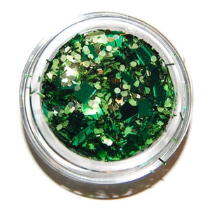 Emerald Green Glitter Mix
