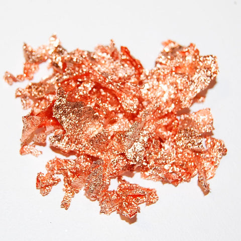 Copper Leaf Flakes
