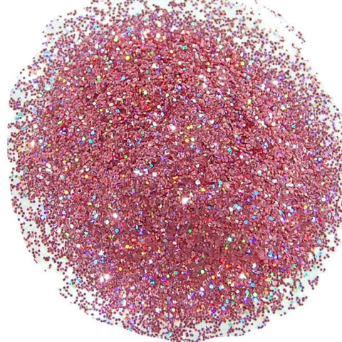 Holo Rose Glitter 0.008 Hex
