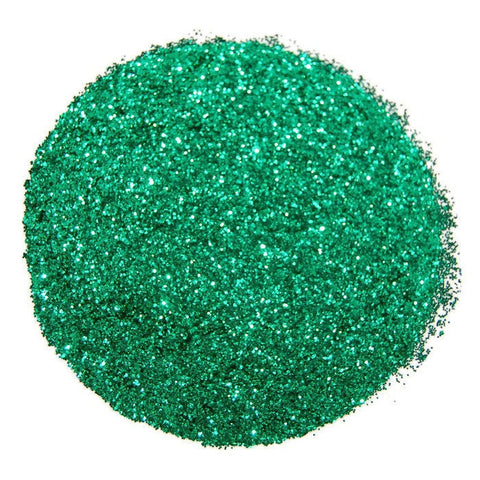 Emerald Green Glitter 0.015 Hex